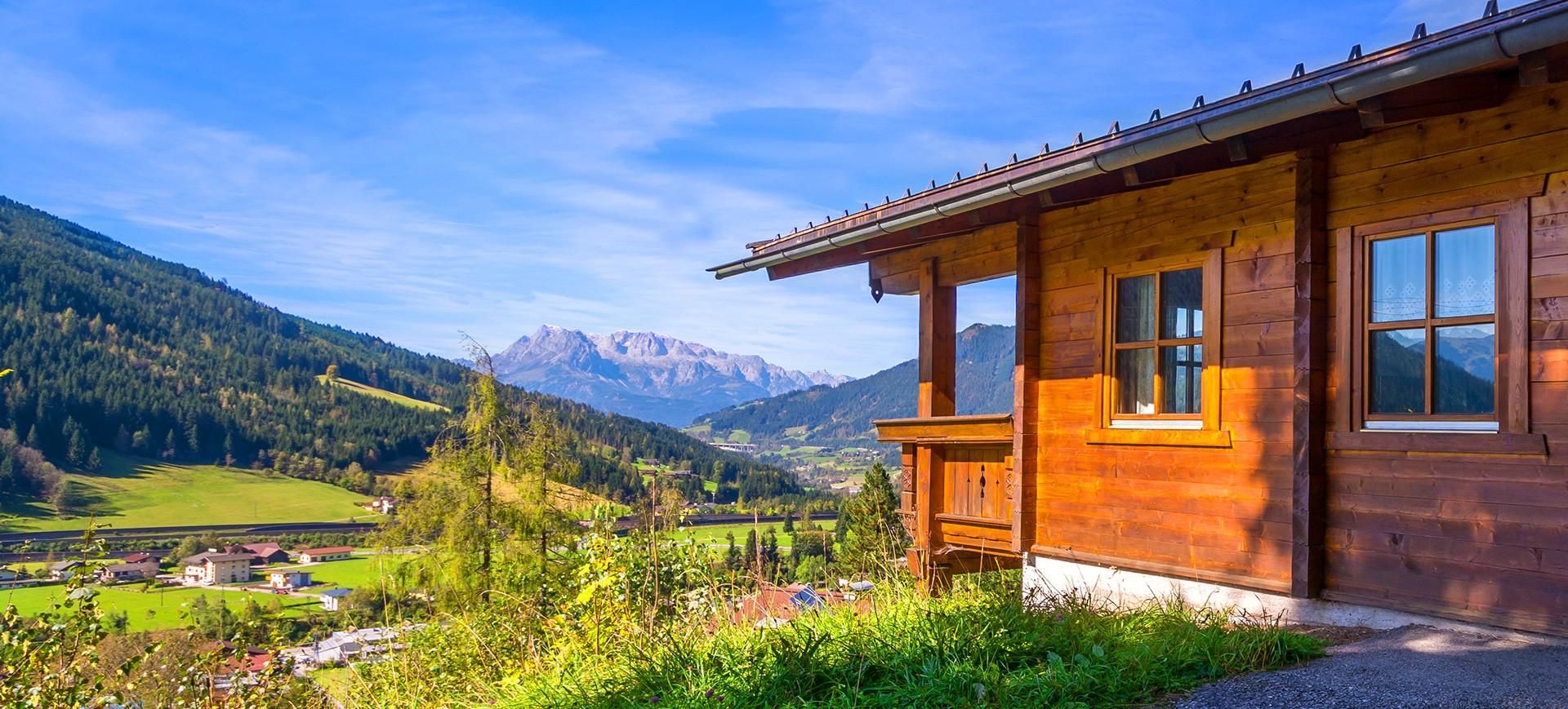 Herzlich Willkommen bei den Ferienhütten Ebner!